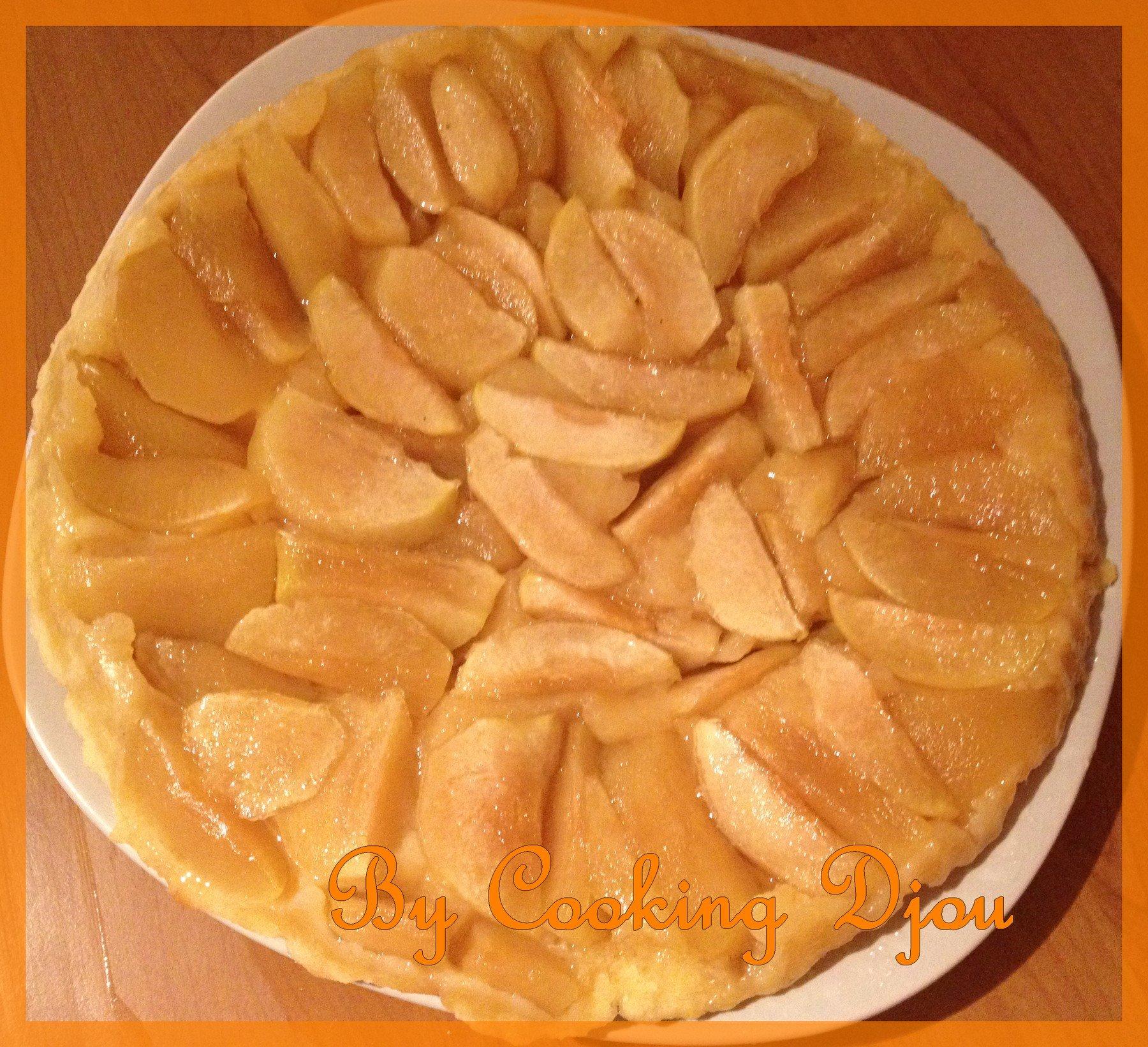 Tarte tatin aux pommes 3