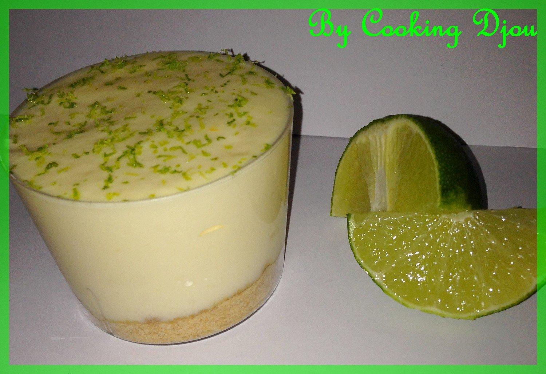 Mousse mascarpone-citron vert